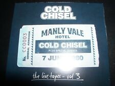 COLD CHISEL Live Tapes Vol 3 The Live At The Manly Vale Hotel June 7 1980, 2 CD