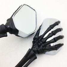 XH Harley Heritage Springer Sportster Dyna Glide Softail V Rod Claw Skull Mirror
