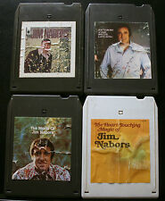 VINTAGE 8 TRACK TAPES, 4 JIM NEBORS,HEART TOUCHING,VERY SPECIAL LOVE SONG,WORLD