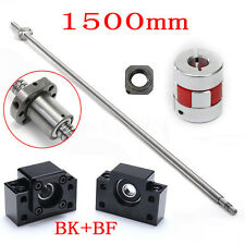 Set Antibacklash Ballscrew 1605-1500mm-C7 + BK/BF 12mm + 6.35mm*10mm Coupler CNC