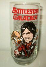 "Vtg 1979 Battlestar Galactica ""Apollo"" Glass Tumbler Universal Studios Sci-Fi"