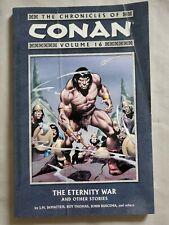 Chronicles of Conan Volume 16 The Eternity War Dark Horse Comics TPB