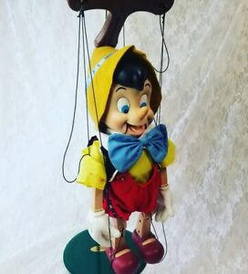 Pinocchio Vintage Marionette Puppet