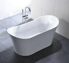 AquaPat Vigo Modern  Acrylic Freestanding Soaking Bath Tub Spa 126805 cUPC