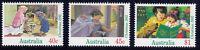 1992 Australia  Christmas - Set of 3 Decimal Stamps, MNH