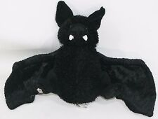 "GANZ WEBKINZ  BLACK BAT 8"" PLUSH TOY Halloween Decoration Stuffed Animal"
