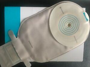 30pc Stoma Ostomy Bag, Coloplast SenSura Mio 10421, Neutral Grey, Maxi Drainable