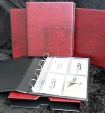 Post Card & Photograph Album in Red with slip case [Guardian Type]