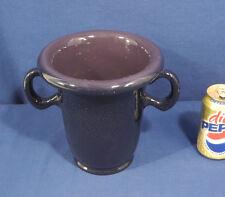 "Lg. 8"" x 10"" Rookwood Art Pottery Urn Vase 1921 #2197 Mottled Purple Glaze Gloss"