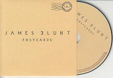 JAMES BLUNT Postcards 2014 UK 1-trk promo test CD
