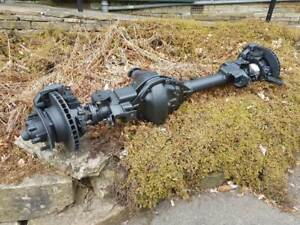 LAND ROVER DEFENDER 110 HEAVY DUTY FRONT SALISBURY AXLE -TAKE OFF