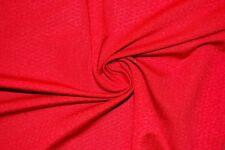 Jacquard Dark Red #82 Nylon Lycra Spandex 4 Way Stretch Swimwear Fabric BTY
