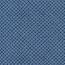 Indigo Blue Asian Japanese Quilt Cotton Fabric (SHIBORI) -  By the Half Yard