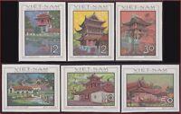 VIETNAM du NORD N°610/615** Non dentelés ,1968 North Vietnam 521-526 Imperf MNH