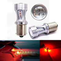 2Pcs Error Free 1156 12C Red LED Backup Reverse Parking Projector Bulbs