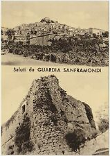SALUTI DA GUARDIA SANFRAMONDI - VEDUTINE (BENEVENTO) 1972