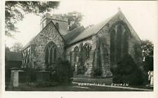 REAL PHOTOGRAPHIC POSTCARD NORTHFIELD CHURCH, (NEAR BIRMINGHAM), WORCESTERSHIRE