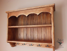 s59 Wooden Wall Unit | Mounted Kitchen Unit | Cottage Shelf | Traditional Shelf