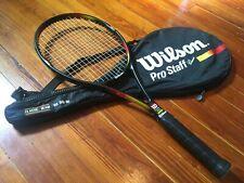 Wilson Pro Staff 6.1 Classic tennis racquet –4 1/2 –w/ case 1st gen Taiwan