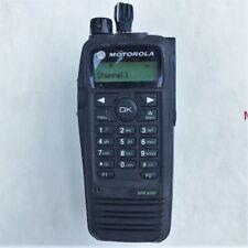 Motorola Xpr6550 Uhf-1 (403-470Mhz) MotoTrbo Dmr Digital Portable Radio Ham Gmrs