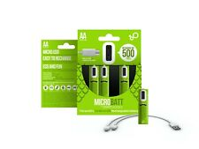 4pc AA 1.2V SMARTOOOLS Rechargeable Ni-MH Battery Micro USB (NiMH)