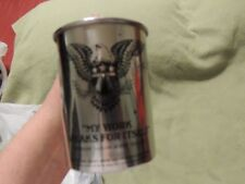 New Norman Collins Sailor Jerry Stainless Steel BeerMoscow MuleMug Cup Cool