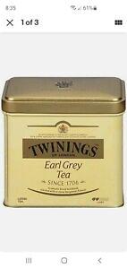 TWININGS EARL GREY Loose Tea Tin 100g 3.5oz