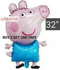 "Peppa Pig extra large  32""  Foil Balloon~Birthday Party Decoration Supplies"