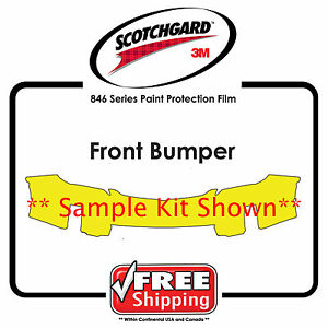 Kits for Acura - 3M 846 Scotchgard Clear Paint Protection Film - Front Bumper