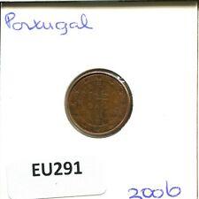 2006 PORTUGAL 2 CENTS  #EU291.EW