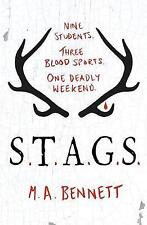 S.T.A.G.S. by M. A. Bennett (Paperback, 2017)