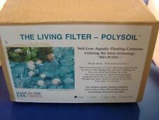The Living Filter Polysoil Soil-Less Aquatic Planting Container NEW OLD STOCK