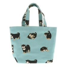 Kotobuki Japanese Mini Tote Student Women Tote Hand Bag Handbag Cotton Puppies