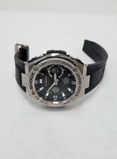 Casio Men's G Shock Stainless Quartz Watch Resin Strap GST-S110 50mm P5L213712A