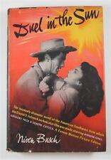 DUEL IN THE SUN NIVEN BUSCH 1947 WORLD PUBLISHING PHOTOPLAY ED DJ JENNIFER JONES
