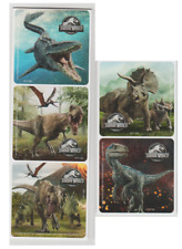 "25 Jurassic World Fallen Kingdom Stickers, Assorted, 2.5""x2.5"" each"