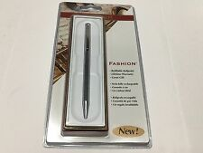 Sheaffer Fashion stainless steel & Chrome ballpoint pen 1980's W.D