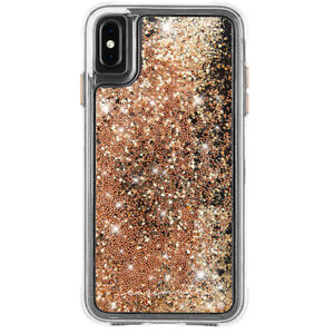 Case-Mate Waterfall Street Case Phone Cover For Apple iPhone Xs Max Gold
