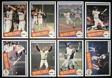 FREE* 1984 WORLD SERIES CARD SET DETROIT TIGERS SAN DIEGO PADRES GIBSON TRAMMELL
