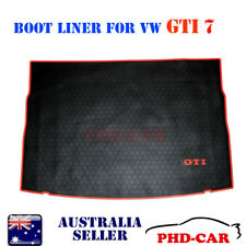 Volkswagen Golf GTI MK7/ 7.5all weather Tailor Made  rubber Cargo Boot Liner