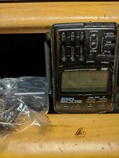 Roland Zoom 9002 digital guitar effects processor refurb with new battery and AC