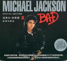"MICHAEL JACKSON ""BAD"" CD made in CINA (sealed)"