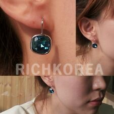 925 sterling silver earrings fashion Modern crystal item for women free shipping