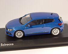 Volkswagen VW Scirocco 2008 Blue Metallic 1 43 Model 840182 NOREV