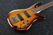 Ibanez SR370EF-BBT SR Series Fretless Electric Bass Guitar Brown Burst