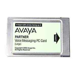 Avaya Partner ACS 308 & 509 - Voice Messaging PC Card Large CWD4B 700226525