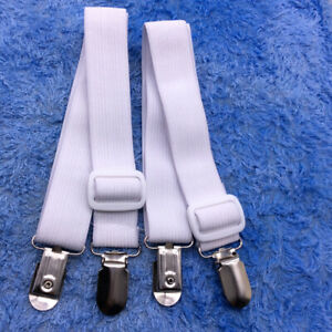 2pc Bettlaken Matratze Halter Verschluss Greifer Clip Hosenträger Bänder GN