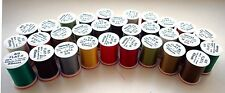 """8/0, 6/0 and 4/0 Fly Tying Threads """"4Trouts FLAT"""" - Lot of combo 3x or 5x spools"""