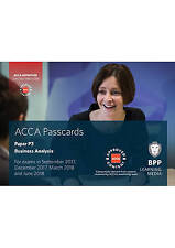 ACCA P3 Business Analysis: Passcards by BPP Learning Media | Spiral-bound Book |