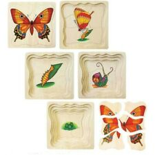Wooden Butterfly Layer Puzzle by Fun Factory Toys 3